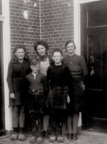 De familie Maatjes.