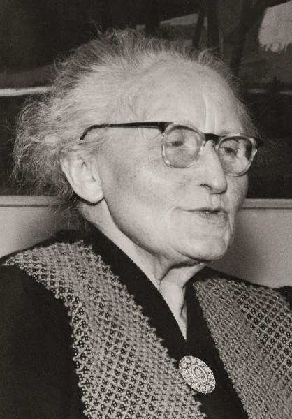 Afb. 1 - Grietje Rogaar, omstreeks 1970.